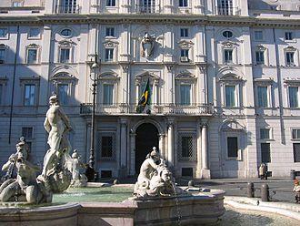 Pamphili family - The Palazzo Pamphili in Rome
