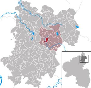 Brandscheid, Westerwaldkreis - Image: Brandscheid im Westerwaldkreis