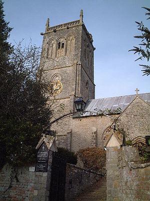 Brent Knoll (village) - Church of St Michael