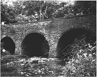 Bridge in Newport Borough - Side of the bridge