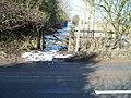 Bridleway meets road - geograph.org.uk - 1735744.jpg