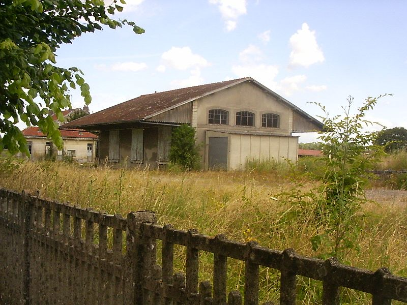 Brienne-le-château, station, goederenstation
