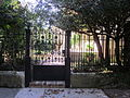Briggs-Staub House New Orleans Gate Porch Third.JPG