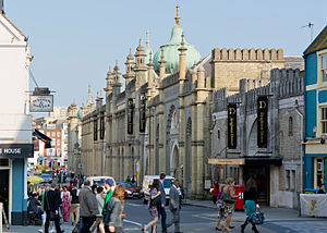 Brighton Dome - Brighton Dome, Church Street facade