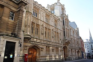 Bristol Crown Court - The Guildhall, the former Crown Court building