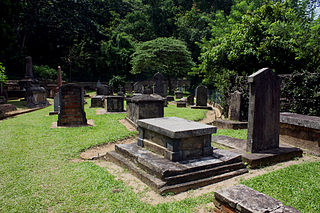 British Garrison Cemetery Commonwealth War Graves Commission cemetery in Sri Lanka