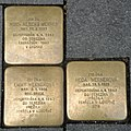 Brno Gedenksteine Joštova 3.jpg