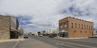 Burns, Oregon - North Broadway Avenue (2008)