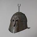 Bronze helmet of Apulian-Corinthian type MET DP105640.jpg