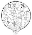 Bronze mirror from the Vatican Museums with Turms Fufluns Tinia.jpg