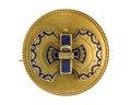 Brosch av guld, 1860- tal - Hallwylska museet - 109973.tif