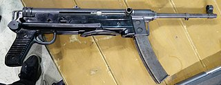 M56 submachine gun submachine gun