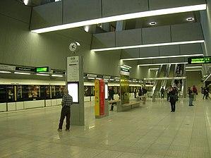 Keleti pályaudvar (Budapest Metro) - Image: Budapest Metro 4 Keleti station 2
