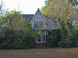 National Register of Historic Places listings in Butler County, Alabama - Image: Buell Stallings Stewart House Nov 2013 1