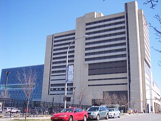 Buffalo Niagara Medical Campus - Image: Buffalo General Hospital 2012