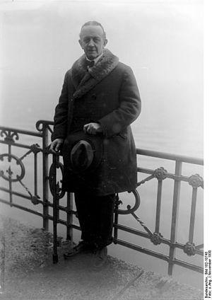 Johann Heinrich von Bernstorff - Bernstorff in 1930 at Geneva