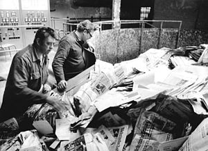 A German paper factory receives its daily supp...