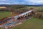 Bundesautobahn 49 (drone view bridge construction).jpg