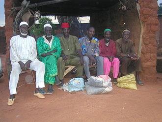 Demographics of Burkina Faso - Bobo men in Bobo-Dioulasso