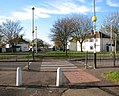 Burnthouse Drive pedestrian crossing, RAF Marham.jpg