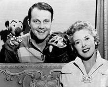 Burr Tillstrom Fran Allison Kukla Fran and Ollie 1954.jpg