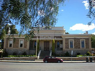 Burra, South Australia - Burra Town Hall
