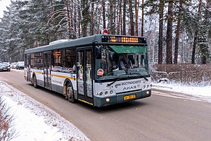 Автобус ЛиАЗ-5292.60 на улице Победы