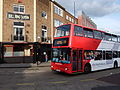 Bus outside Bull Ring Tavern, Birmingham - DSCF0525.JPG