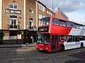Bus outside Bull Ring Tavern, Birmingham - DSCF0525.JPG