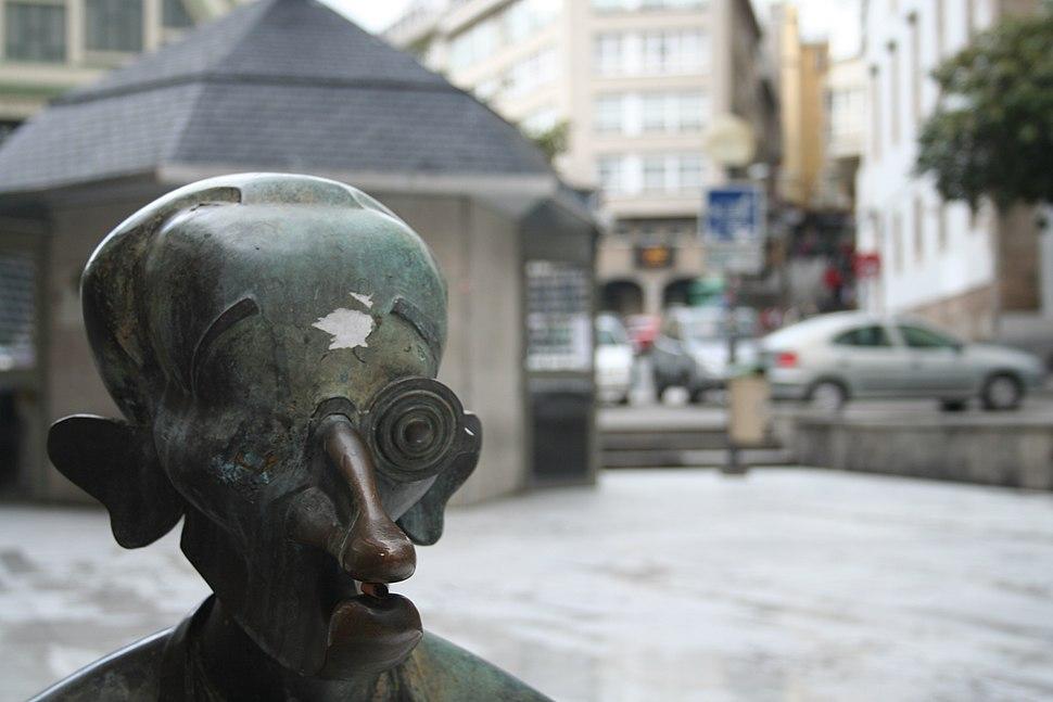 Busto Vicente Risco, A Coruña