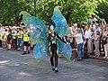 Butterfly samba dancer from Samba Tropical at Helsinki Samba Carnaval 2019.jpg