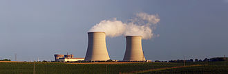 Byron Nuclear Generating Station - Byron Nuclear Generating Station is located near the small city of Byron, Illinois, 17 miles (27 km) from Rockford, Illinois.