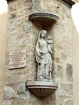 Statue de l'église