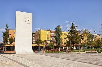 Cërrik - Image: Cërrik, Albania 2018 01