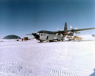 Military activity in the Antarctic