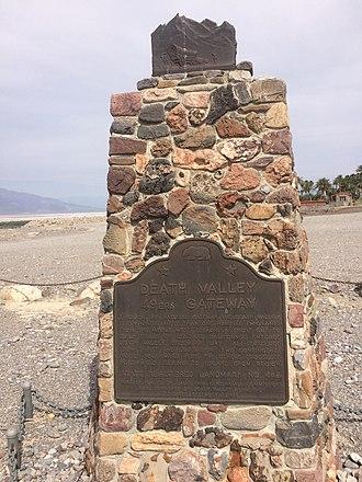 California Historical Landmarks in Inyo County - Image: CA Hist Landmark 442
