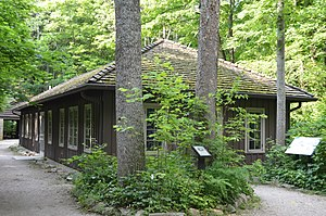 National Register of Historic Places listings in Owen County, Indiana - Image: CCC Recreation Building Nature Museum