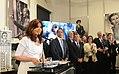 CFK en el salón Mujeres Argentinas.jpg