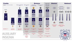 Uniforms of the United States Coast Guard Auxiliary - USCG Auxiliary Insignia