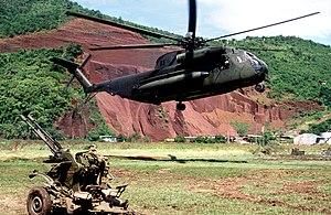 Invasion of Grenada - Image: CH 53D HMM 261 Grenada Okt 1983