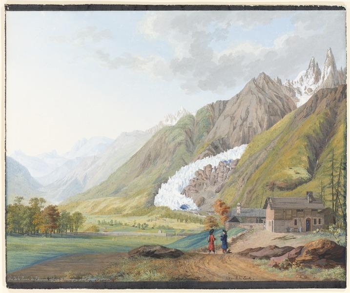 CH-NB - Arveyron, Source de l'Arveyron und Glacier des Bois - Collection Gugelmann - GS-GUGE-LINCK-A-2