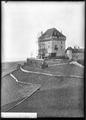 CH-NB - Montreux, Clarens, Château du Châtelard, vue d'ensemble extérieure - Collection Max van Berchem - EAD-7244.tif