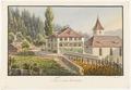 CH-NB - Thierachern, Pfarrhaus und Kirche - Collection Gugelmann - GS-GUGE-WEIBEL-D-135a.tif
