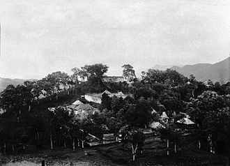 Imogiri - View from adjacent hill of Imogiri in the 1890s