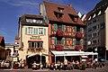 COLMAR...Winstub...Rue Unterlinden - panoramio.jpg