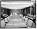CONFERENCE ROOM TO SOUTH - U. S. Courthouse, 1010 Fifth Avenue, Seattle, King County, WA HABS WASH,17-SEAT,6-32.tif