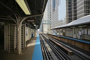 LaSalle/Van Buren station - Image: CTA La Salle
