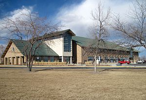 Central Wyoming College - Image: CWC Health & Science Center