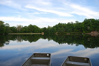 Cacapon Resort State Park - Image: Cacapon Resort State Park Lake
