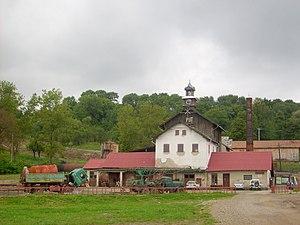 Poles in Romania - Image: Cacica salt mine 01